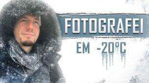 FOTOGRAFEI À -20°C e DEU MUITO BOA