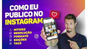 COMO EU POSTO FOTOS NO INSTAGRAM