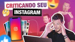 CRITICANDO FOTOS NO INSTAGRAM