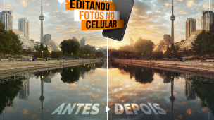 EDITANDO FOTO NO CELULAR
